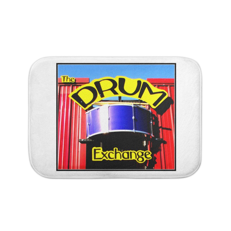 Drum Exchange Sign Home Bath Mat by EdHartmanMusic Swag Shop!