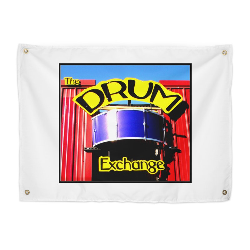 Drum Exchange Sign Home Tapestry by EdHartmanMusic Swag Shop!