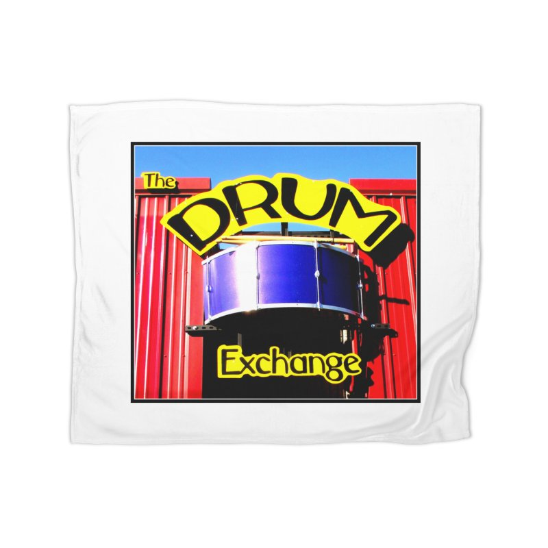 Drum Exchange Sign Home Fleece Blanket Blanket by EdHartmanMusic Swag Shop!