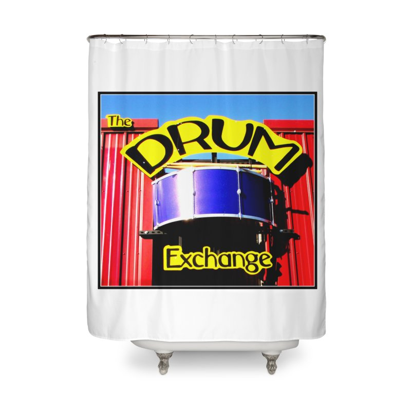 Drum Exchange Sign Home Shower Curtain by EdHartmanMusic Swag Shop!