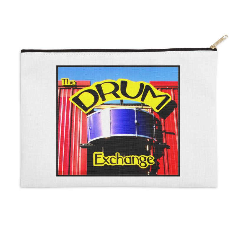Drum Exchange Sign Accessories Zip Pouch by EdHartmanMusic Swag Shop!
