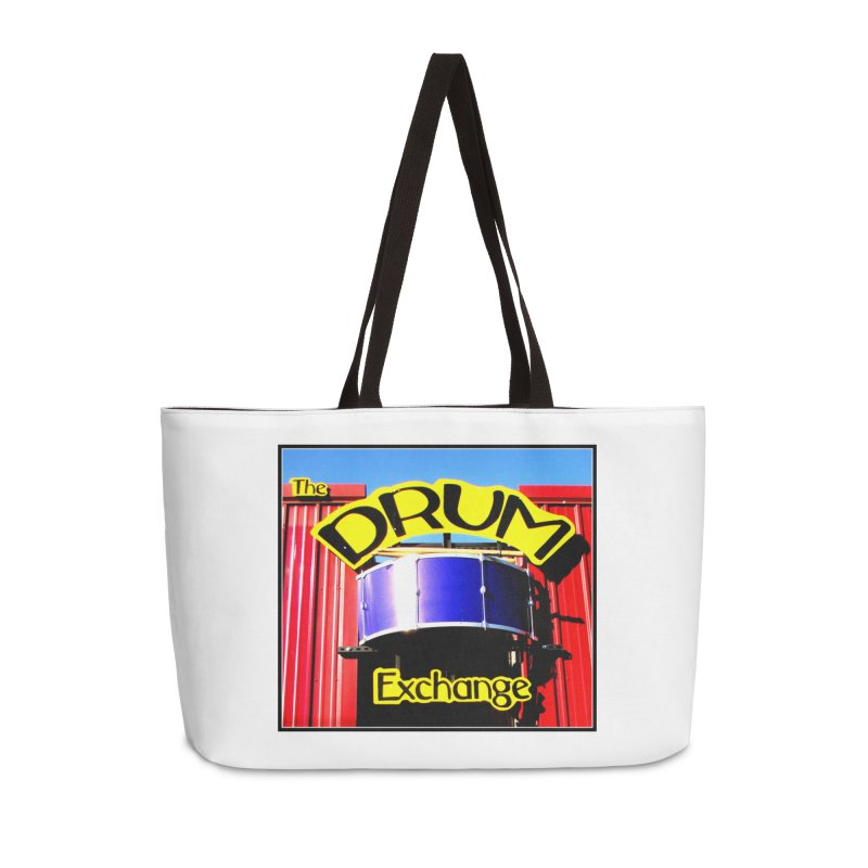 Drum Exchange Sign Accessories Weekender Bag Bag by EdHartmanMusic Swag Shop!