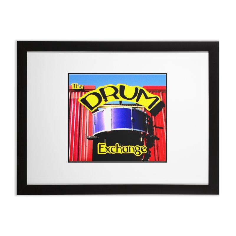 Drum Exchange Sign Home Framed Fine Art Print by EdHartmanMusic Swag Shop!