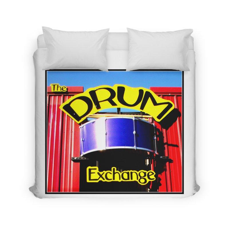 Drum Exchange Sign Home Duvet by EdHartmanMusic Swag Shop!