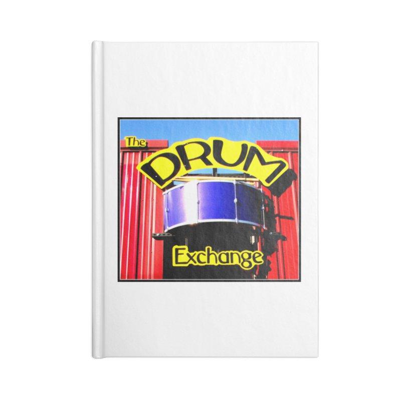Drum Exchange Sign Accessories Notebook by EdHartmanMusic Swag Shop!