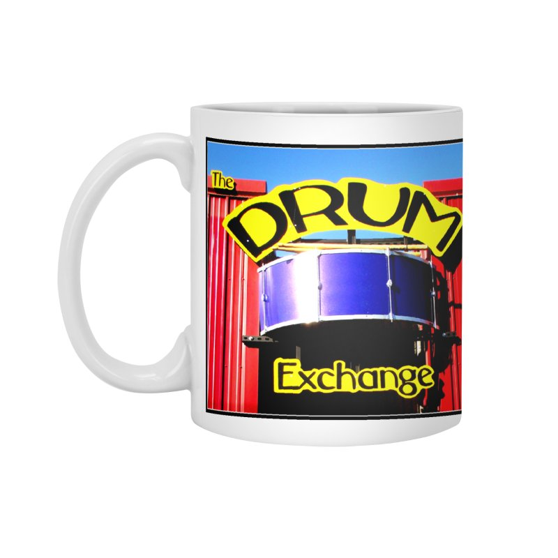 Drum Exchange Sign Accessories Mug by EdHartmanMusic Swag Shop!