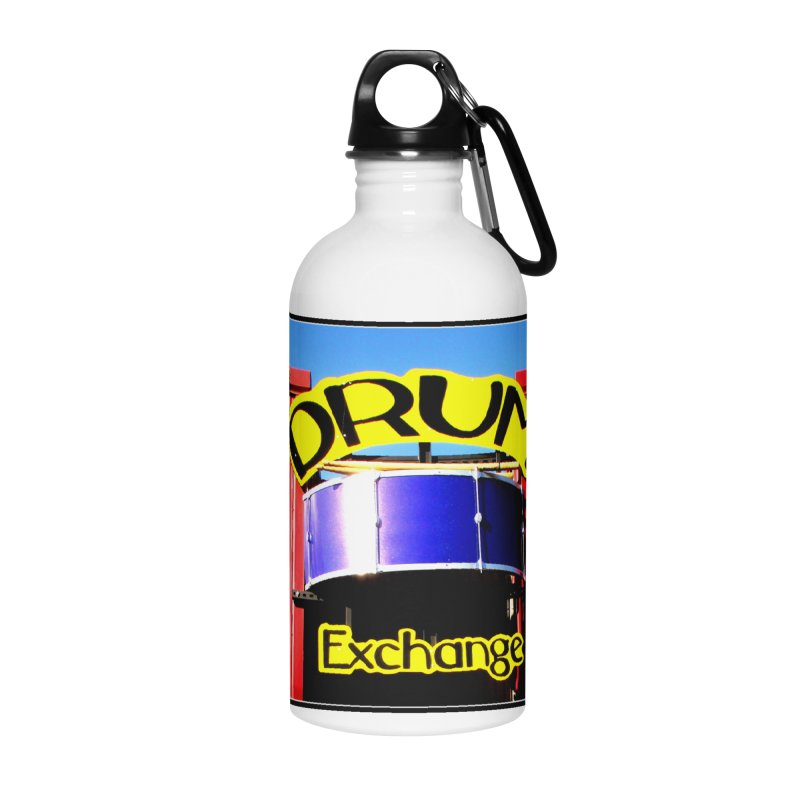 Drum Exchange Sign Accessories Water Bottle by EdHartmanMusic Swag Shop!