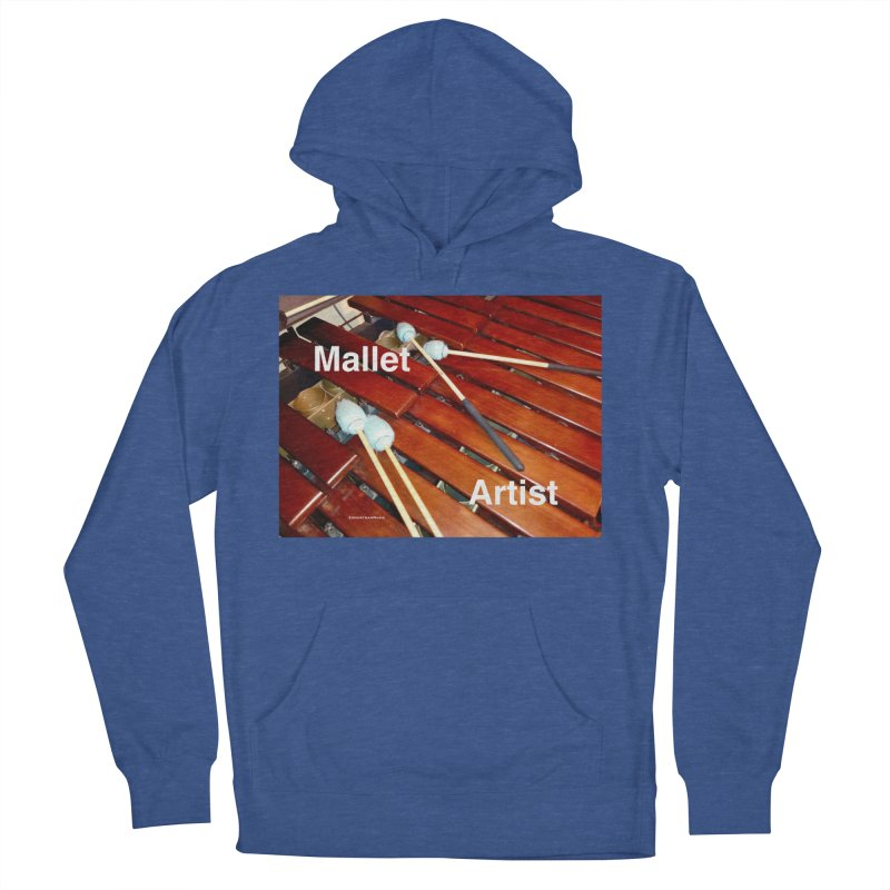 Mallet Artist Women's French Terry Pullover Hoody by EdHartmanMusic Swag Shop!
