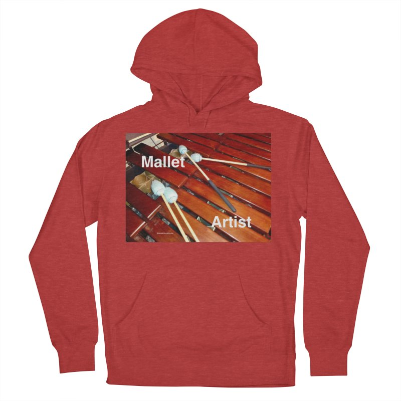 Mallet Artist Men's French Terry Pullover Hoody by EdHartmanMusic Swag Shop!
