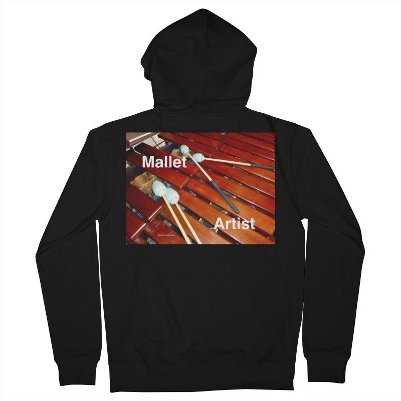 Mallet Artist Men's Zip-Up Hoody by EdHartmanMusic Swag Shop!