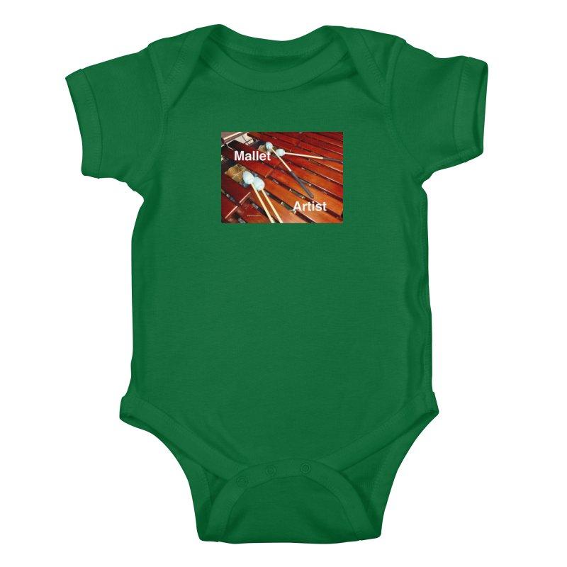 Mallet Artist Kids Baby Bodysuit by EdHartmanMusic Swag Shop!