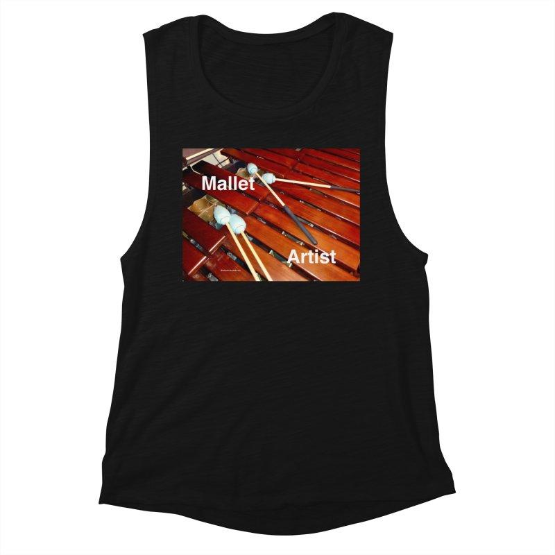 Mallet Artist Women's Tank by EdHartmanMusic Swag Shop!
