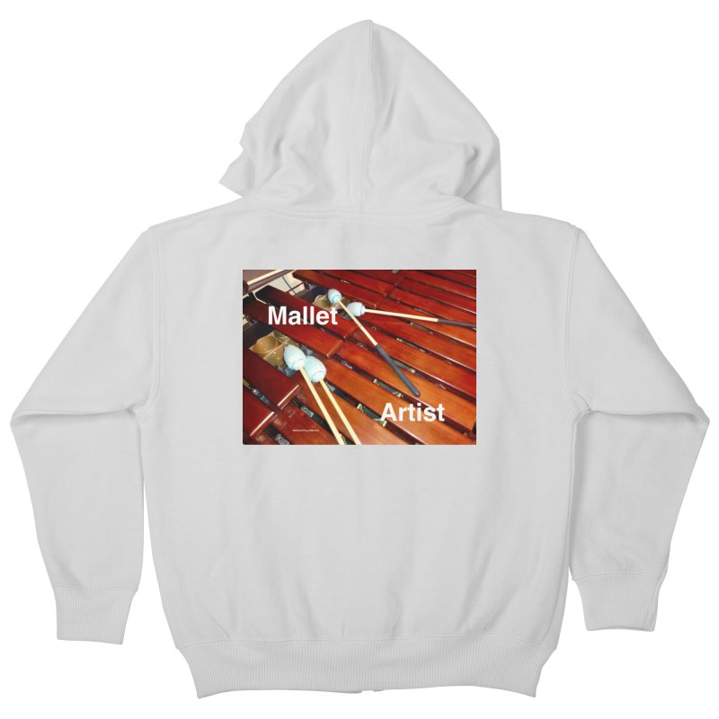 Mallet Artist Kids Zip-Up Hoody by EdHartmanMusic Swag Shop!