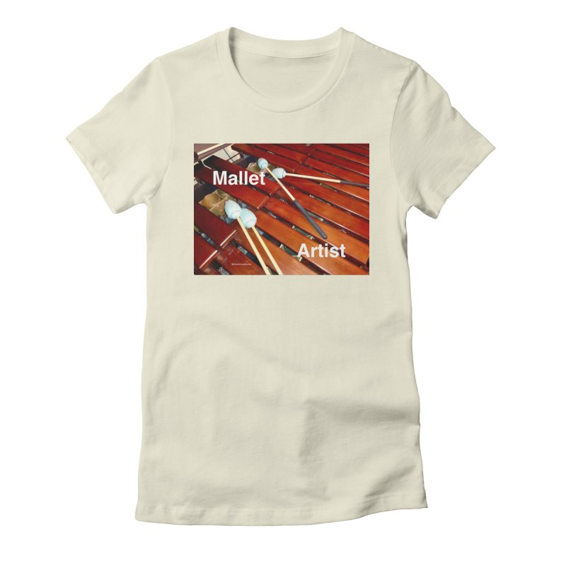 Mallet Artist Women's T-Shirt by EdHartmanMusic Swag Shop!