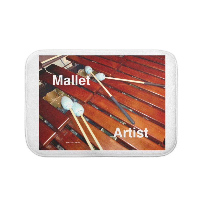 Mallet Artist Home Bath Mat by EdHartmanMusic Swag Shop!