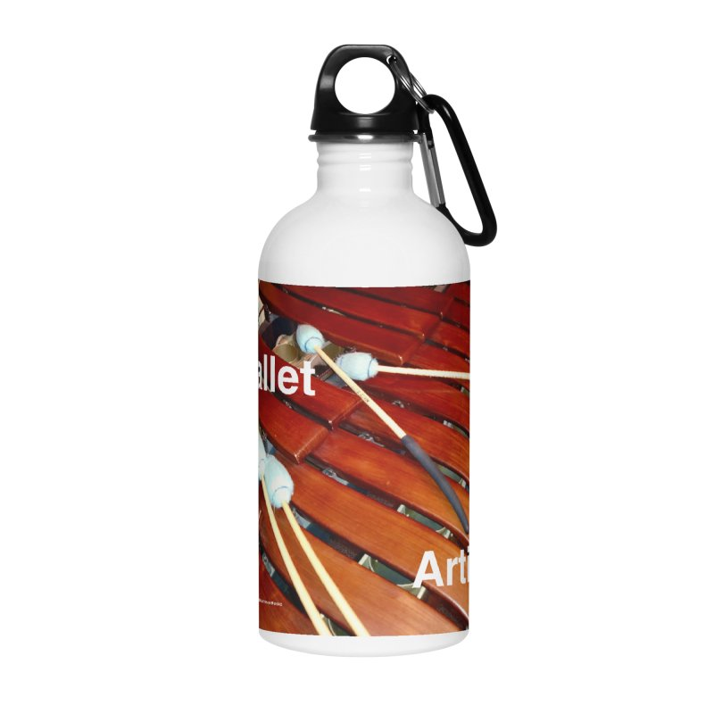 Mallet Artist Accessories Water Bottle by EdHartmanMusic Swag Shop!