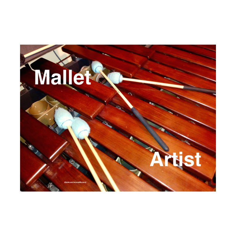 Mallet Artist Accessories Greeting Card by EdHartmanMusic Swag Shop!