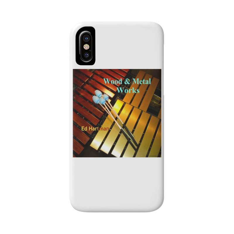 Wood and Metal Works CD Cover Accessories Phone Case by EdHartmanMusic Swag Shop!