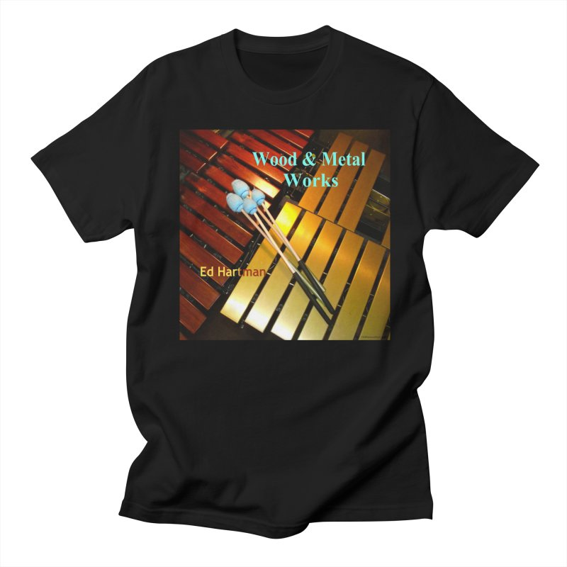 Wood and Metal Works CD Cover Men's T-Shirt by EdHartmanMusic Swag Shop!