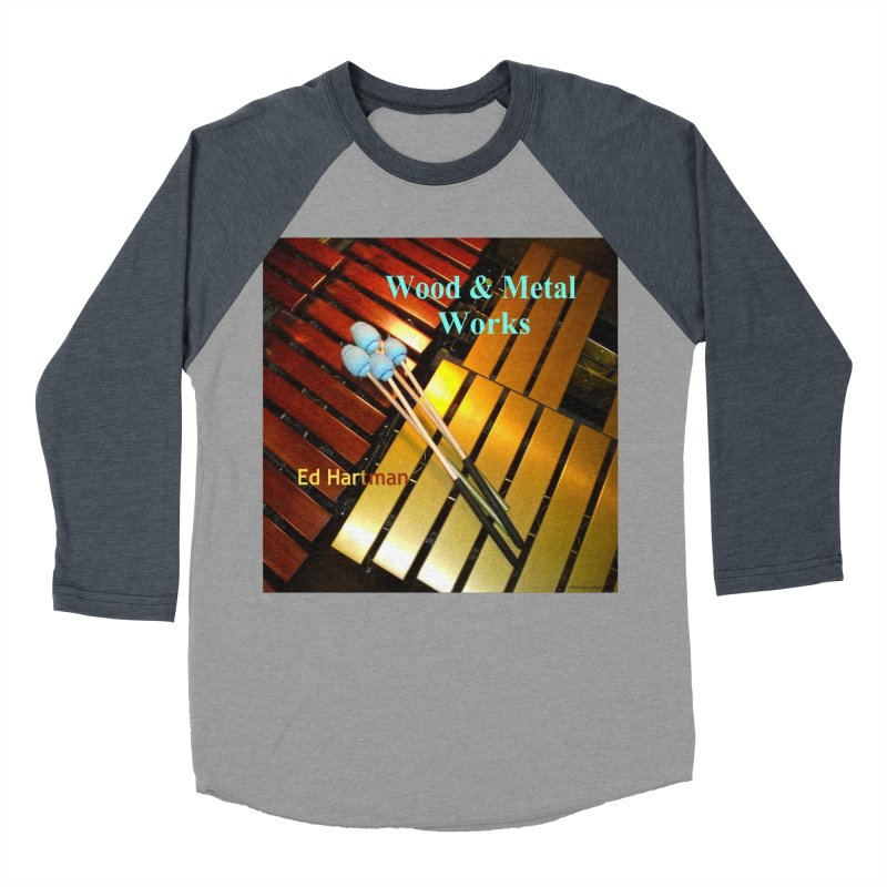Wood and Metal Works CD Cover Women's Longsleeve T-Shirt by EdHartmanMusic Swag Shop!