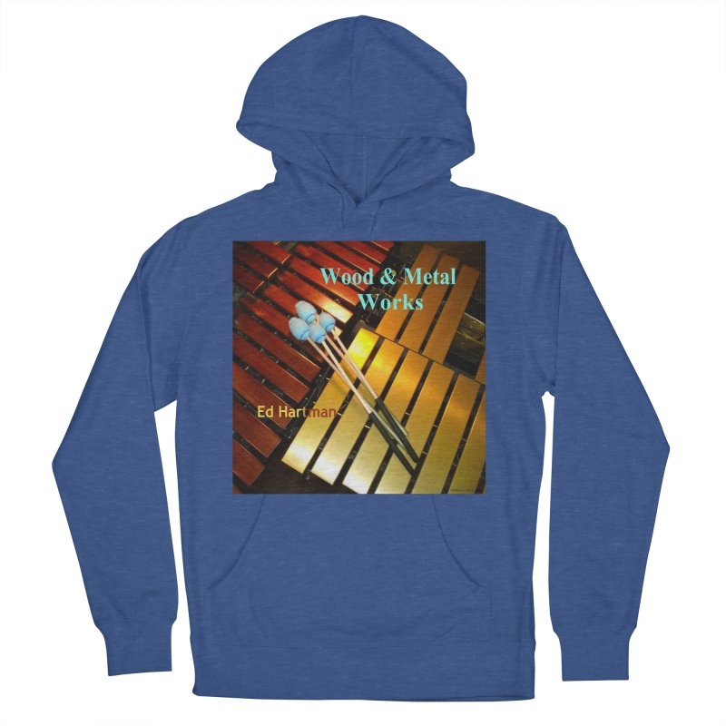 Wood and Metal Works CD Cover Men's French Terry Pullover Hoody by EdHartmanMusic Swag Shop!