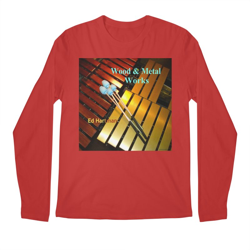 Wood and Metal Works CD Cover Men's Longsleeve T-Shirt by EdHartmanMusic Swag Shop!