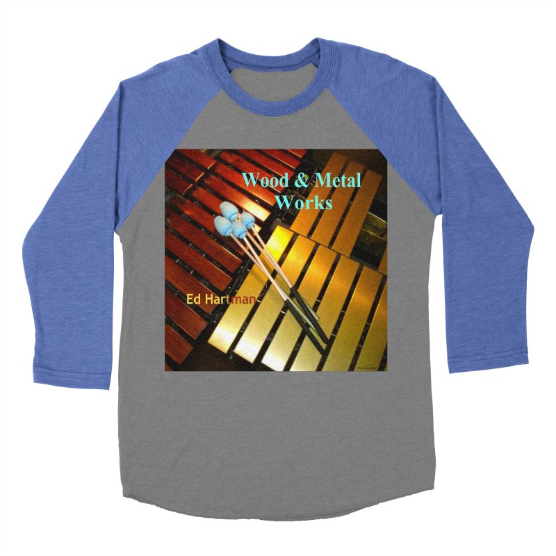 Wood and Metal Works CD Cover Men's  by EdHartmanMusic Swag Shop!