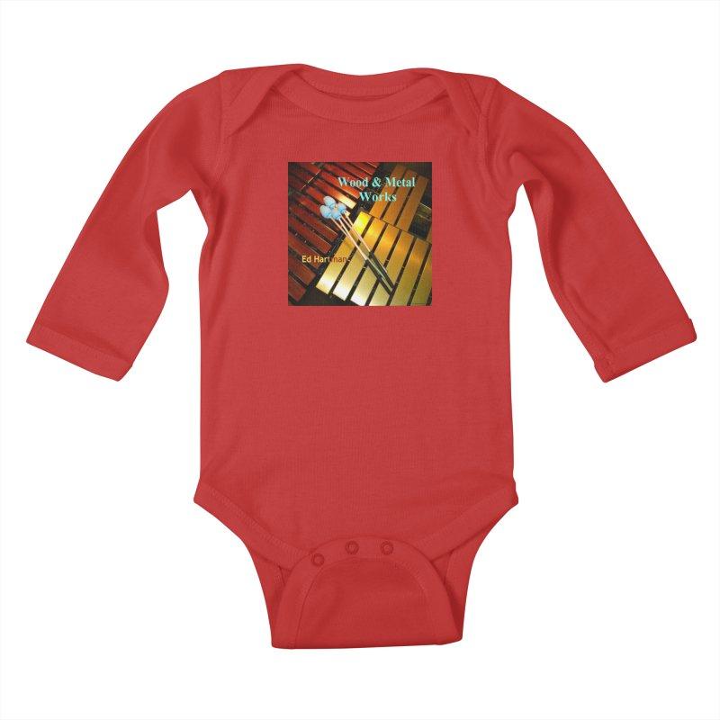 Wood and Metal Works CD Cover Kids Baby Longsleeve Bodysuit by EdHartmanMusic Swag Shop!