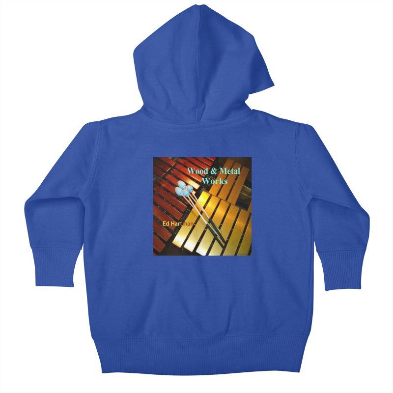 Wood and Metal Works CD Cover Kids Baby Zip-Up Hoody by EdHartmanMusic Swag Shop!