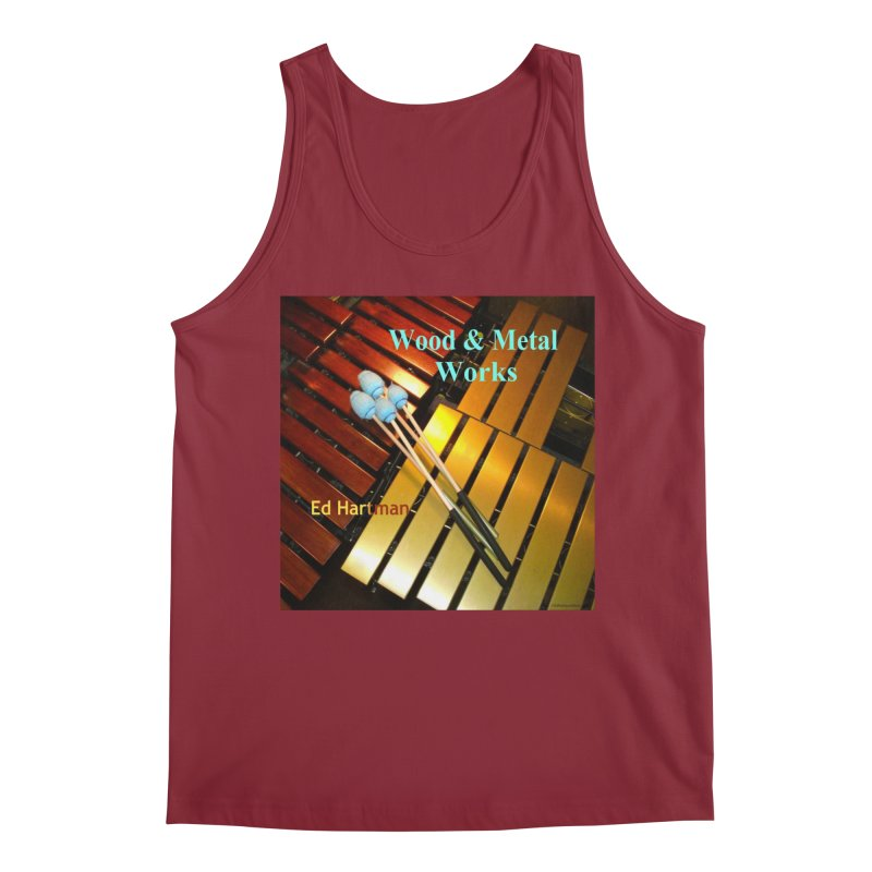 Wood and Metal Works CD Cover Men's Tank by EdHartmanMusic Swag Shop!