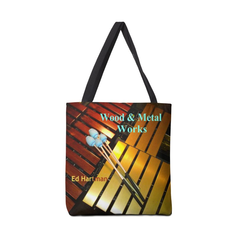 Wood and Metal Works CD Cover Accessories Tote Bag Bag by EdHartmanMusic Swag Shop!