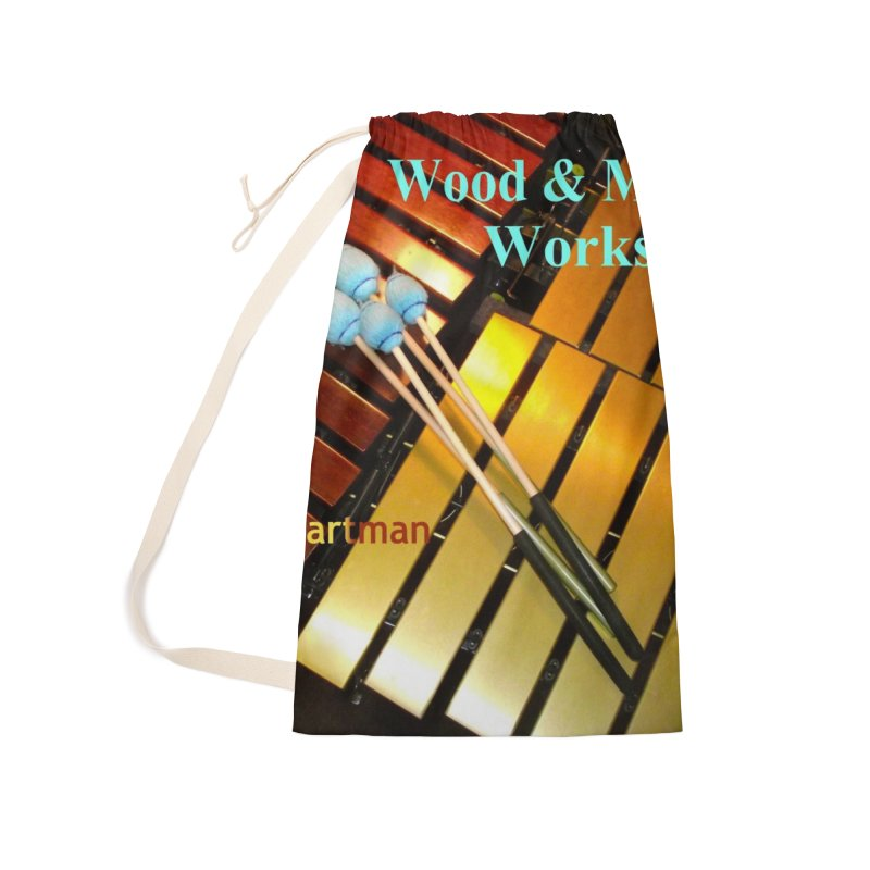 Wood and Metal Works CD Cover Accessories Laundry Bag Bag by EdHartmanMusic Swag Shop!