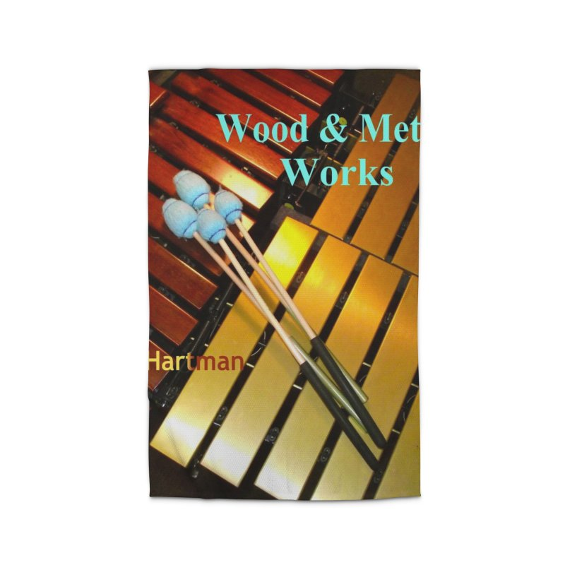Wood and Metal Works CD Cover Home Rug by EdHartmanMusic Swag Shop!