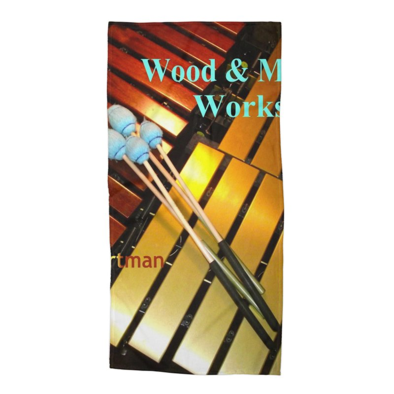 Wood and Metal Works CD Cover Accessories Beach Towel by EdHartmanMusic Swag Shop!