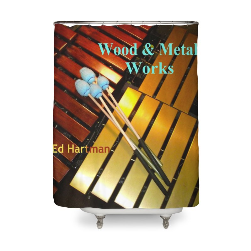 Wood and Metal Works CD Cover Home Shower Curtain by EdHartmanMusic Swag Shop!