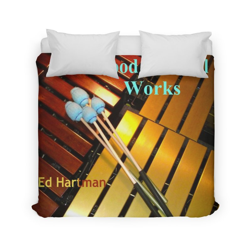 Wood and Metal Works CD Cover Home Duvet by EdHartmanMusic Swag Shop!