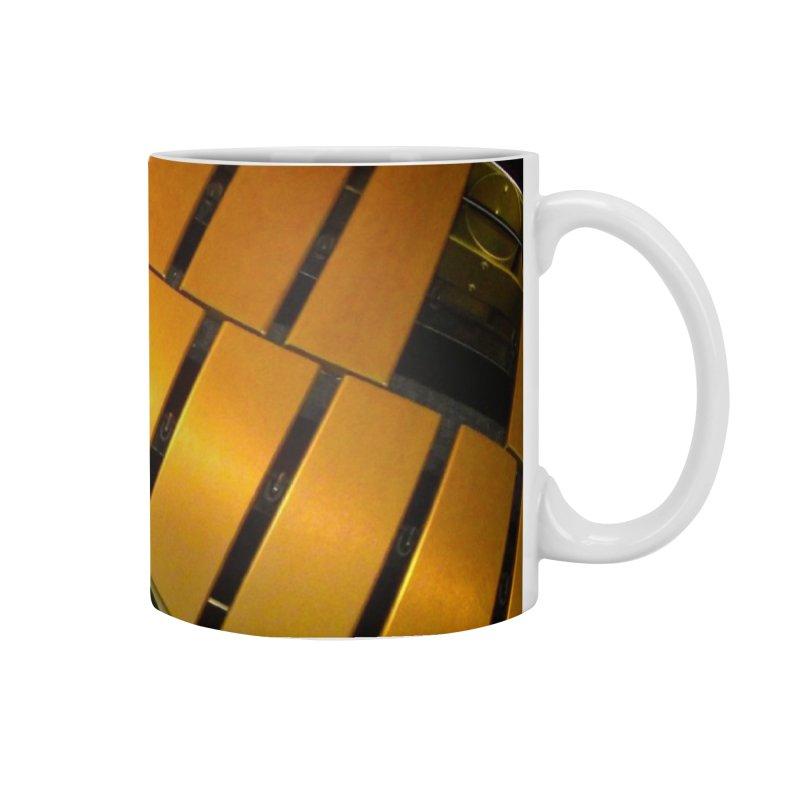 Wood and Metal Works CD Cover Accessories Mug by EdHartmanMusic Swag Shop!