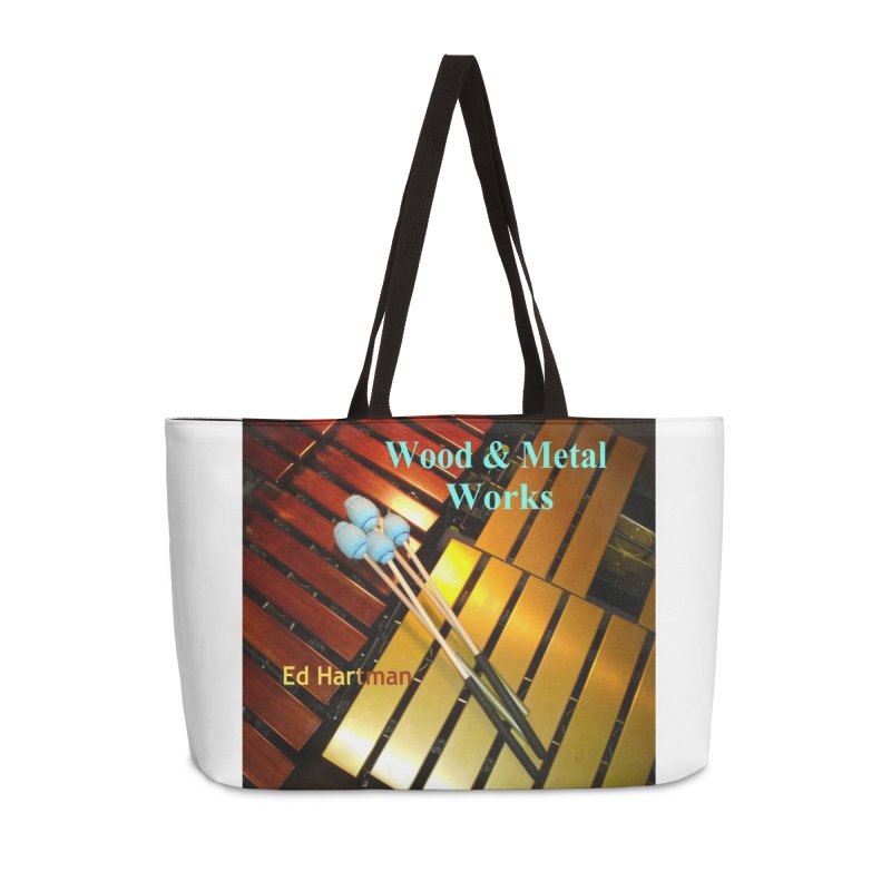 Wood and Metal Works CD Cover Accessories Bag by EdHartmanMusic Swag Shop!