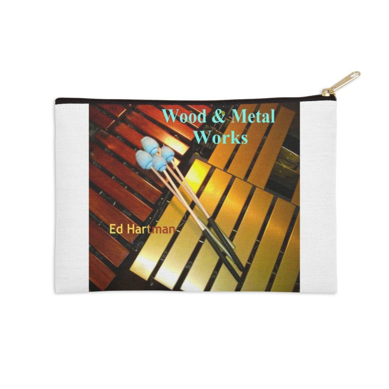 Wood and Metal Works CD Cover Accessories Zip Pouch by EdHartmanMusic Swag Shop!
