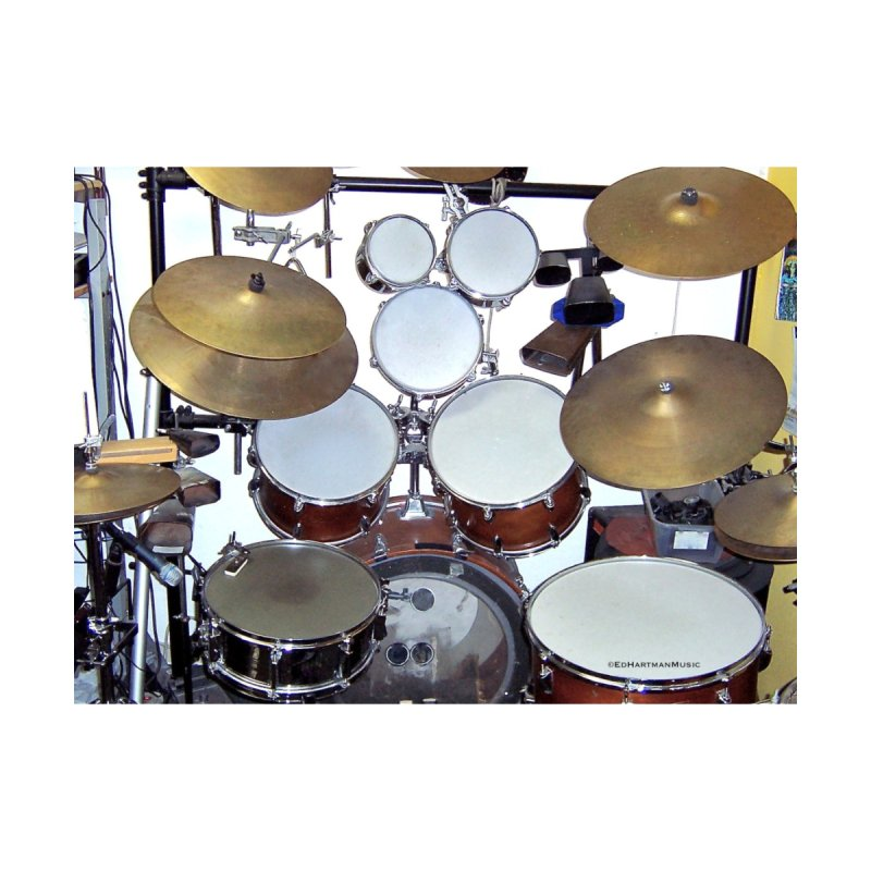 I need a BIG Drumset! Accessories Greeting Card by EdHartmanMusic Swag Shop!