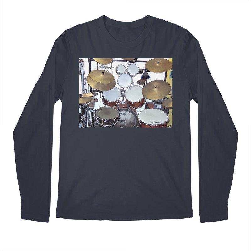 I need a BIG Drumset! Men's Longsleeve T-Shirt by EdHartmanMusic Swag Shop!