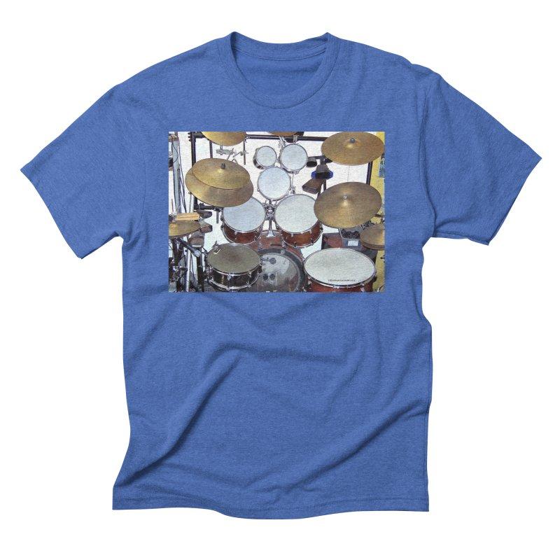 I need a BIG Drumset! Men's T-Shirt by EdHartmanMusic Swag Shop!