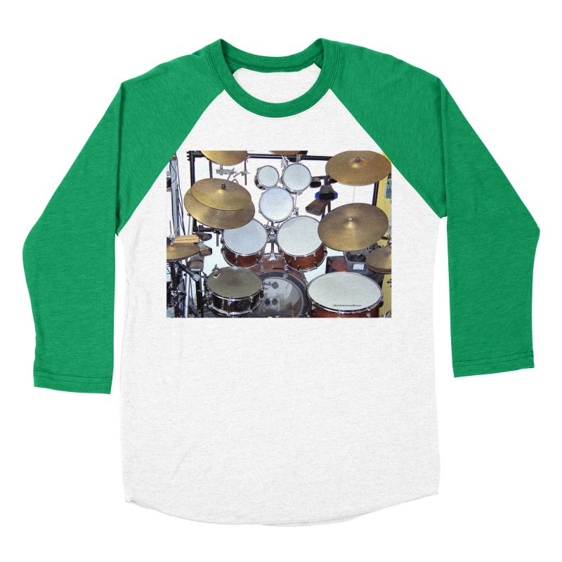 I need a BIG Drumset! Women's Longsleeve T-Shirt by EdHartmanMusic Swag Shop!