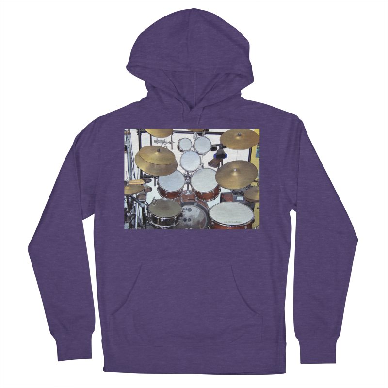 I need a BIG Drumset! Women's Pullover Hoody by EdHartmanMusic Swag Shop!