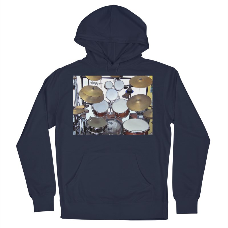 I need a BIG Drumset! Men's Pullover Hoody by EdHartmanMusic Swag Shop!