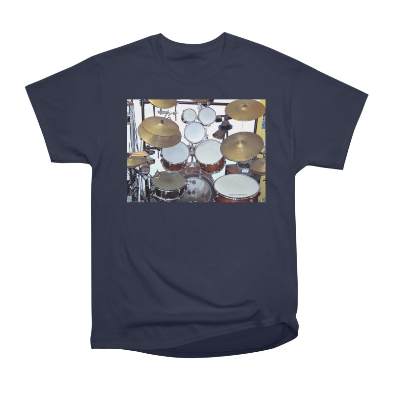 I need a BIG Drumset! Women's Classic Unisex T-Shirt by EdHartmanMusic Swag Shop!