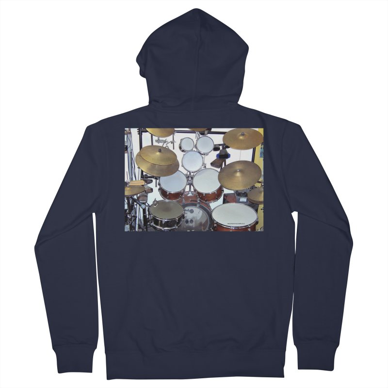 I need a BIG Drumset! Women's French Terry Zip-Up Hoody by EdHartmanMusic Swag Shop!