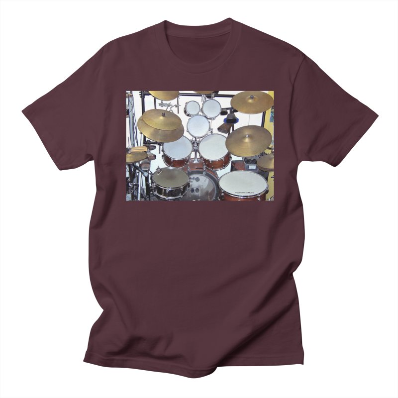 I need a BIG Drumset! Women's Unisex T-Shirt by EdHartmanMusic Swag Shop!