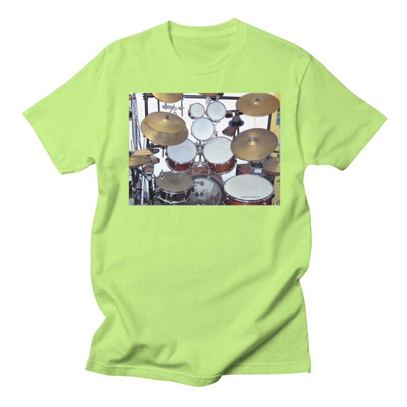 I need a BIG Drumset! Men's Regular T-Shirt by EdHartmanMusic Swag Shop!