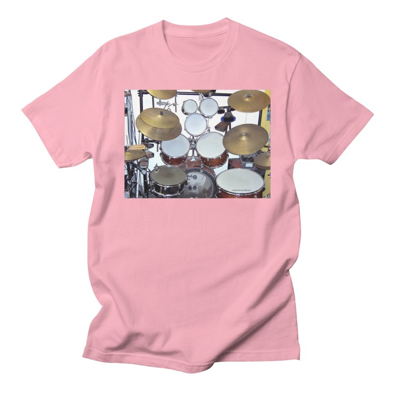 I need a BIG Drumset! Men's Regular T-Shirt by EdHartmanMusic Swag Shop!